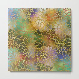 Floral Abstract 3 Metal Print