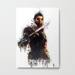 Deus Ex Metal Print
