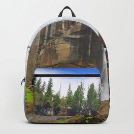 Vernal Fall Yosemite National Park California United States Ultra HD Backpack