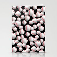 baseball Stationery Cards featuring Baseball by joanfriends