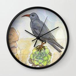 Bird on the Flower / Graja y Bejeque Wall Clock