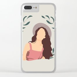 Summer Wind Clear iPhone Case