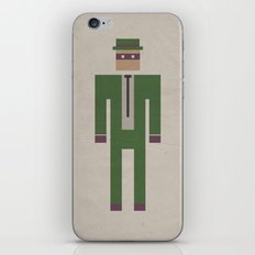 Retro Riddler iPhone & iPod Skin