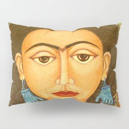 My homage to Frida Pillow Sham