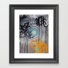 Your Kingdom Come | Feedback Painting Framed Art Print