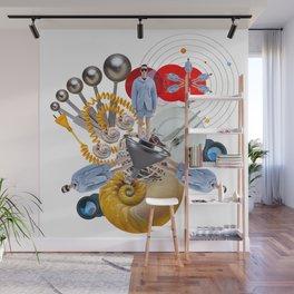 Space Fashion by Lenka Laskoradova Wall Mural