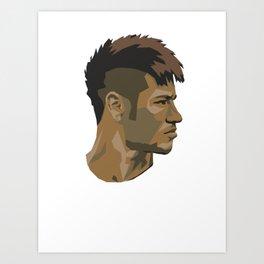 Neymar Art Print
