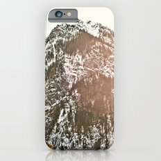 Snowy Mountain Peak in the Sun Slim Case iPhone 6