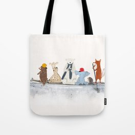 little big surfboard Tote Bag