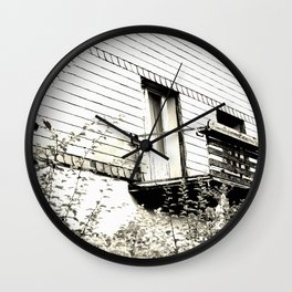 Ghosthouse Wall Clock