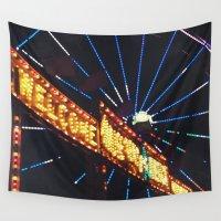 carnival Wall Tapestries featuring Carnival by Ricki Lynn