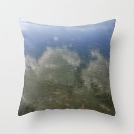 Sky and Sea Throw Pillow