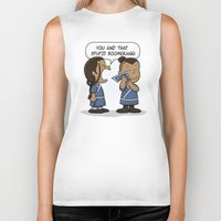 zuko Biker Tanks featuring You and That Stupid Boomerang by adho1982