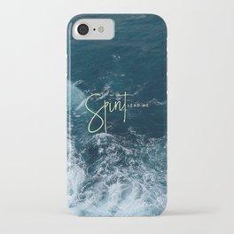 Spirit Lead Me iPhone Case