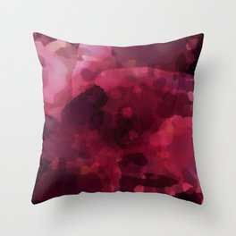 Spilled Wine Throw Pillow