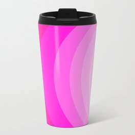 Moons - Pinks Metal Travel Mug