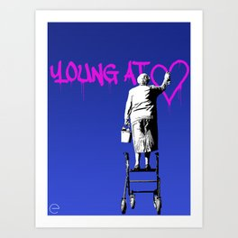 Young At Heart Art Print