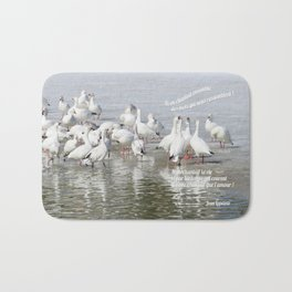 Les Oies Blanches : Si On Chantait - The White Geese : If We Sing Bath Mat