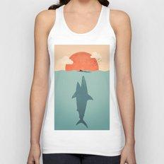 Shark Attack Unisex Tank Top