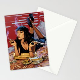Pulp Fiction Mia Stationery Cards
