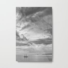Old Ship Metal Print