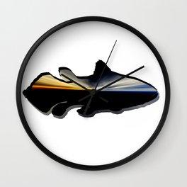 Collection: Aqua coelacanth Wall Clock