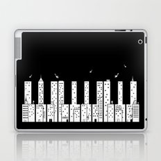 Piano Skyline Laptop & iPad Skin