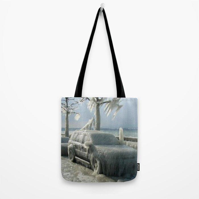 ıce storm Tote Bag