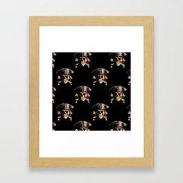 Jolly Roger And Hat Framed Art Print