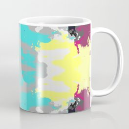 Kanemi - Abstract Colorful Batik Butterfly Mandala Art Coffee Mug