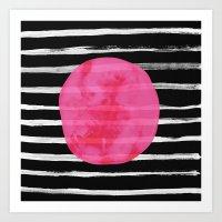 dot Art Prints featuring Dot by Elisabeth Fredriksson
