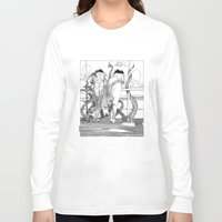 apollonia Long Sleeve T-shirts featuring asc 515 - Sketchwork by From Apollonia with Love