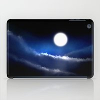 night sky iPad Cases featuring Night Sky by sub_o