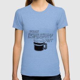 Tea Earl Grey Hot Picard - Black T-shirt
