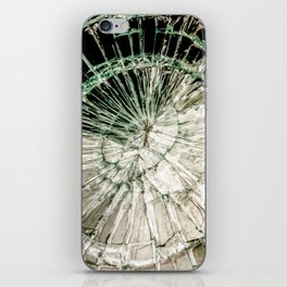 Web of Glass iPhone Skin