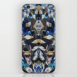 Rorschach Flowers 9 iPhone Skin