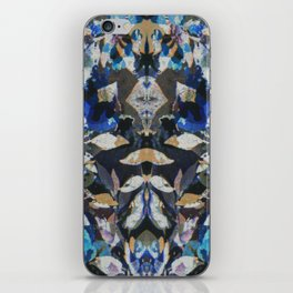 Rorschach Flowers 9 iPhone Skin