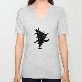 Monstres triangle Unisex V-Neck