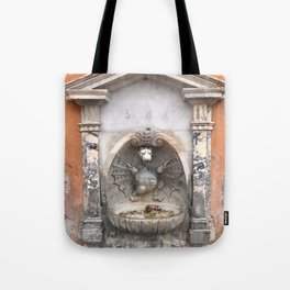 Mighty Fountain Tote Bag