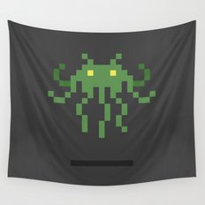 Cthulhu Invader Wall Tapestry