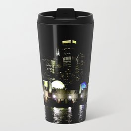 Navy Pier in Living Color: View from the Lake (Chicago Architecture Collection) Travel Mug