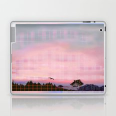 Plaid Landscape Tranquil Sunset Laptop & iPad Skin