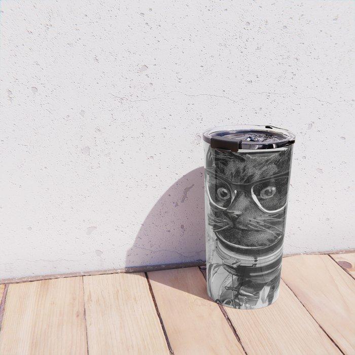 Space Kitten Travel Mug