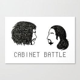 Jefferson Hamilton Cabinet Battle Canvas Print