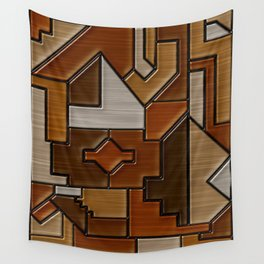 Woodwork Wall Tapestry