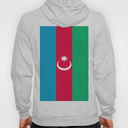 Flag Of Azerbaijan  Hoody