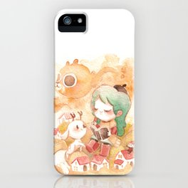 Hilda Whimsical World iPhone Case