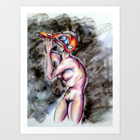 Inner Demon Art Print