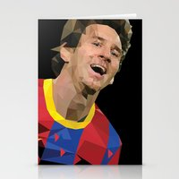 messi Stationery Cards featuring Messi  by Abhikreationz