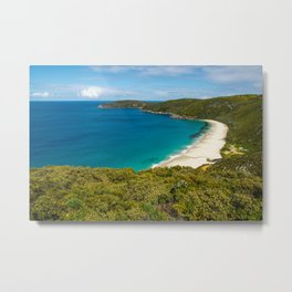 Shelly Beach, West Cape Howe National Park, Western Australia Metal Print